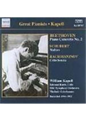 Beethoven: Piano Concerto No 2; Schubert: Piano Pieces