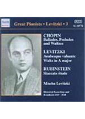 Great Pianists - Levitzki