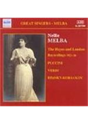 Nellie Melba - The Hayes and London Recordings (1921-26)