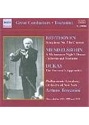 Toscanini conducts Beethoven, Dukas & Mendelssohn
