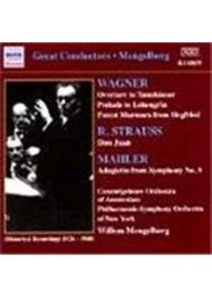 Mahler; Strauss; Wagner: Orchestral Works