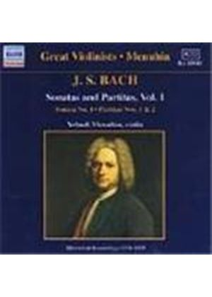 Bach: Sonata No 1; Partitas Nos. 1 and 2