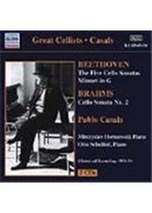 Beethoven: Cello Sonatas Nos 1-5; Minuet in G; Brahms: Cello Sonata No 2