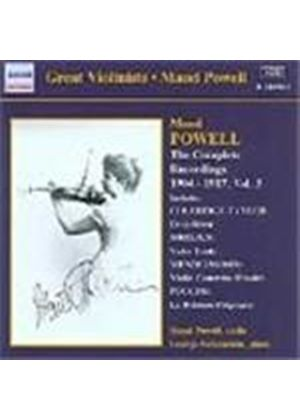 Maud Powell - Complete Recordings 1904-17, Volume 3