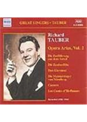 Great Singers - Tauber - Opera Arias, Vol 2