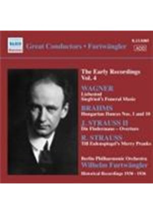 Wilhelm Furtwängler - Early Recordings Vol. 4 (Music CD)