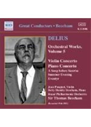 Delius: Orchestral Works, Vol 5