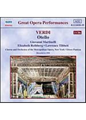 Guiseppe Verdi - Otello (Panizza, Metropolitan Opera Of New York) (Music CD)