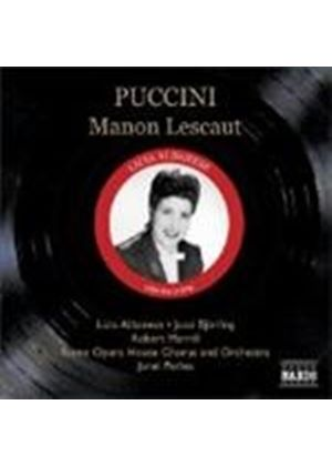 Puccini - MANON LESCAUT 3CD