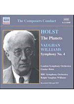 Holst/Vaughan Williams - The Planets/Symphony No. 4 (Holst, Vaughan Williams) (Music CD)