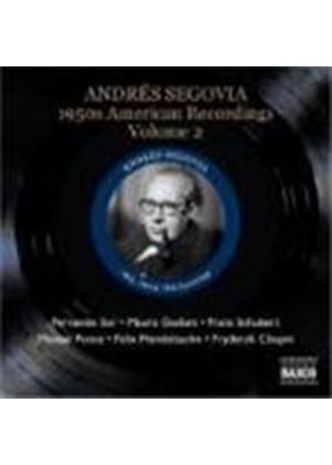 Various Composers - 1950s American Recordings Volume 2 - Andres Segovia (Music CD)
