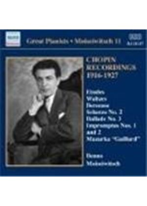 Great Pianists - Moiseiwitch, Vol 11