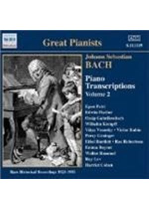 Bach: Piano Transcriptions, Vol 2