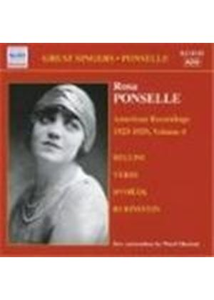 Rosa Ponselle - American Recordings 1923-29, Vol 4