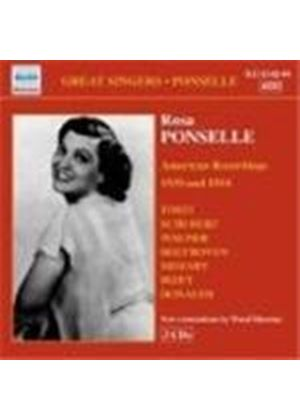Rosa Ponselle - Recordings 1939 & 1954