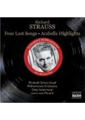 Strauss, R: (4) Last Songs; Arabella - excs