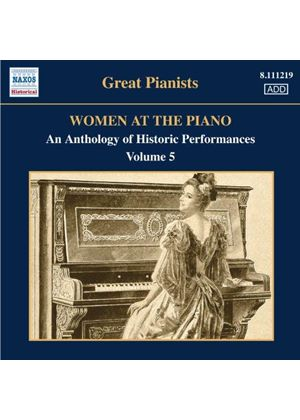 Women at the Piano, Vol. 5 (Music CD)