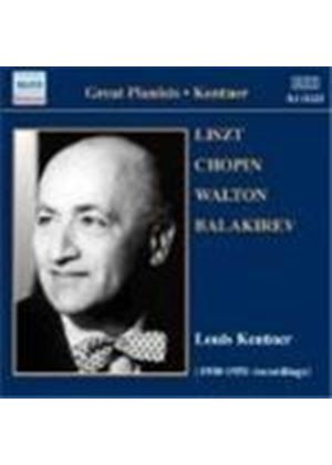 Louis Kentner - Piano Recital