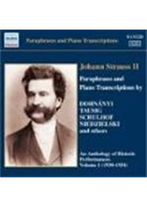 Strauss II, J: Paraphrases and Piano Transcriptions