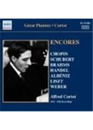 Alfred Cortot - Great Pianists: Encores (Music CD)