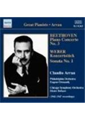 Beethoven; Weber: Works for Piano & Orchestra