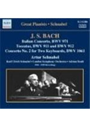 Schnabel plays Bach