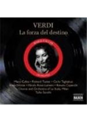 Giuseppe Verdi - La Forza Del Destino (Serafin, La Scala Chorus And Orch.) (Music CD)