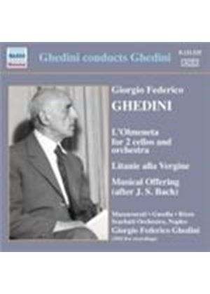 Ghedini: Ghedini Conducts Ghedini (Music CD)