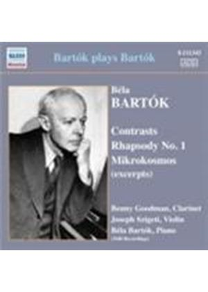 Bartók plays Bartók (Music CD)