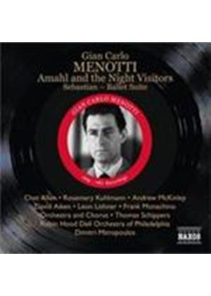 Menotti: Amahl and the Night Visitors; Sebastian; Ballet Suite (Music CD)