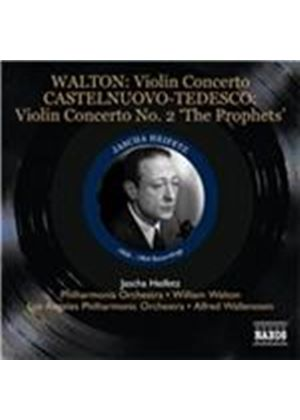 Walton: Violin Concerto; Castelnuovo-Tedesco: Violin Concerto No. 2 'The Prophets' (Music CD)