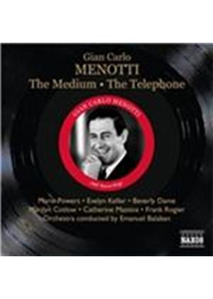 Gian Carlo Menotti: The Medium; The Telephone (Music CD)