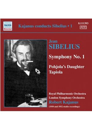 Sibelius: Symphony No. 1; Tapiola (Music CD)