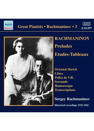 Rachmaninov, Vol. 3 (Music CD)