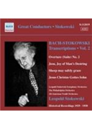 Bach: Stokowski Transcriptions Vol. 2 (Music CD)