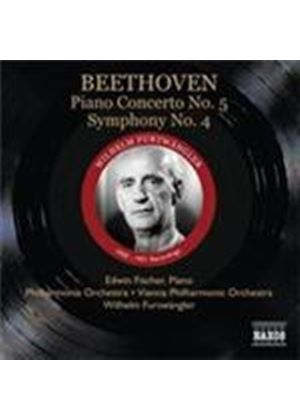Beethoven: Piano Concerto No 5, 'Emperor'; Symphony No 4 (Music CD)