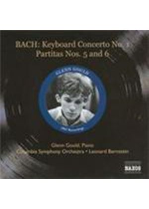 Gould plays and Bernstein conducts Bach (Music CD)