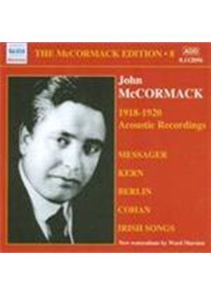 John McCormack - McCormack Edition Vol.8, The (Music CD)