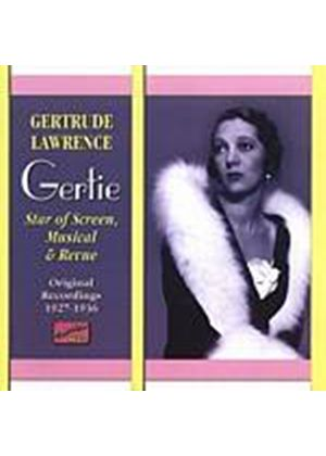 Gertrude Lawrence - Star Of Screen, Musical And Revue 1926 - 1936 (Music CD)