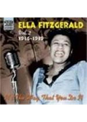 Ella Fitzgerald - Ella Fitzgerald Vol.2 (It's The Way That You Do It/Studio Recordings 1936-1939)