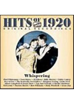 Various Artists - Hits Of 1920s - Whispering (Music CD)