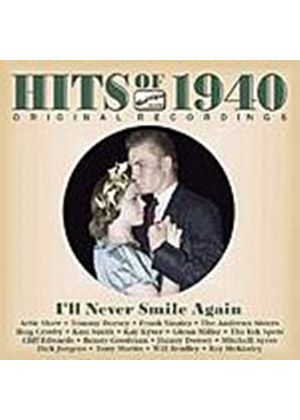 Various Artists - Hits Of 1940 - Ill Never Smile Again (Music CD)