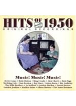 Various Artists - Hits Of 1950 - Music! Music! Music! (Music CD)