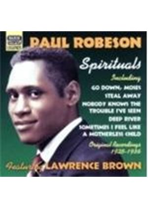 Paul Robeson Feat. Lawrence Brown - Spirituals: Original Recordings 1925 - 1936 (Music CD)