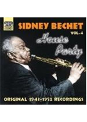 Sidney Bechet - Sidney Bechet Vol.4 (House Party/Original Recordings 1943-1952)