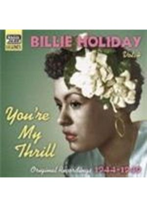 Billie Holiday - Billie Holiday Vol.4 (You're My Thrill - Original Recordings 1944-1949)