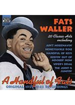 Fats Waller - A Handful Of Fats - Original 1929 - 1942 Recordings (Music CD)