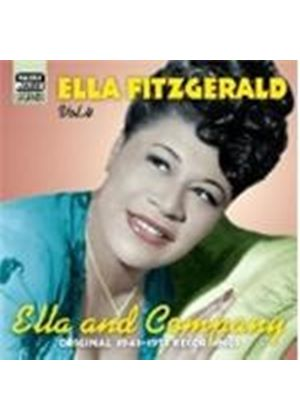 Ella Fitzgerald - Ella Fitzgerald Vol.4 (Ella And Company/Original 1943-1951 Recordings)