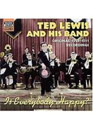Ted Lewis And His Band - Is Everybody Happy?: Original Recordings 1923 - 1931 (Music CD)