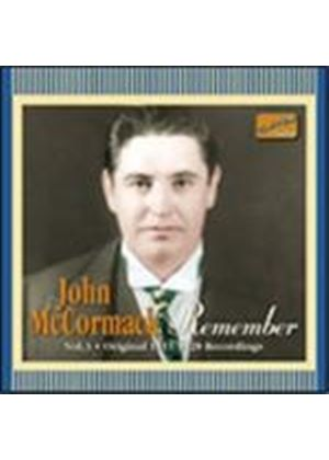 John Mccormack - John McCormack Vol.3 (Remember/Original 1911-1928 Recordings)